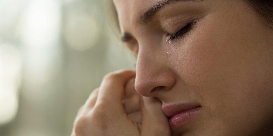 Weinen ohne Grund