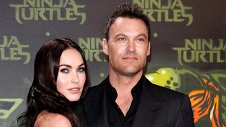 BERLIN, GERMANY - OCTOBER 05: Megan Fox and husband Brian Austin Green attend the Underground Event Screening of Paramount Pictures' 'TEENAGE MUTANT NINJA TURTLES' at UFO Sound Studios on October 5, 2014 in Berlin, Germany. (Photo by Andreas Rentz/Getty Images for Paramount Pictures International)