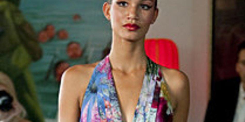 Susanne Wiebe setzt bei der Fashion Week Berlin voll auf Kontraste