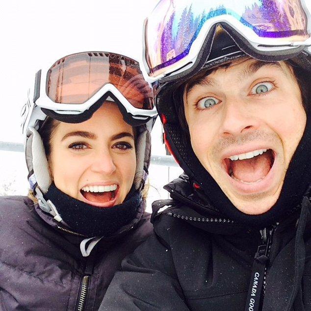 Ian Somerhalder und Nikki Reed sind überglücklich