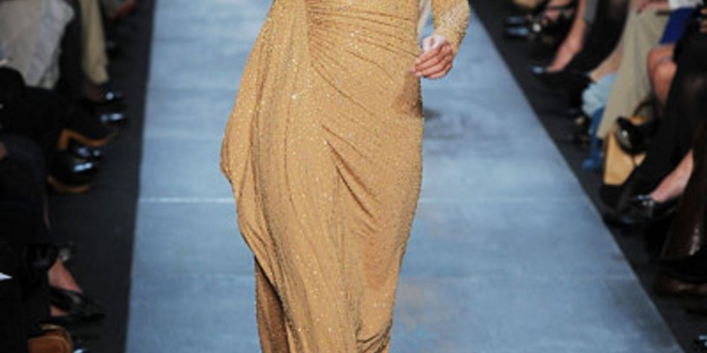 NY Fashion Week mit der Fall Kollektion 2011 von Micheal Kors