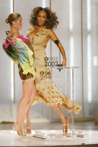 Heidi Klum bei der Vogue