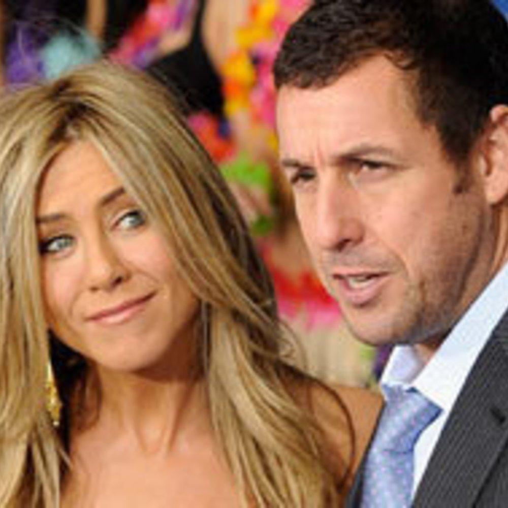 """Jennifer Aniston & Adam Sandler: Premiere von """"Meine erfundene Frau"""""""
