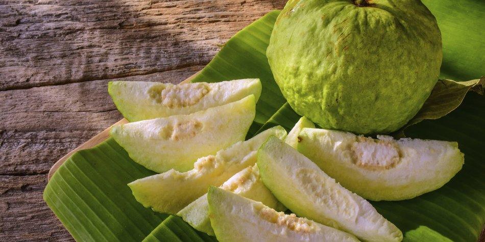 DIe Guave ist ein wahrer Alleskönner!