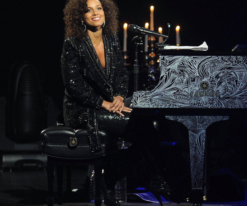 Alicia Keys spielt Konzert
