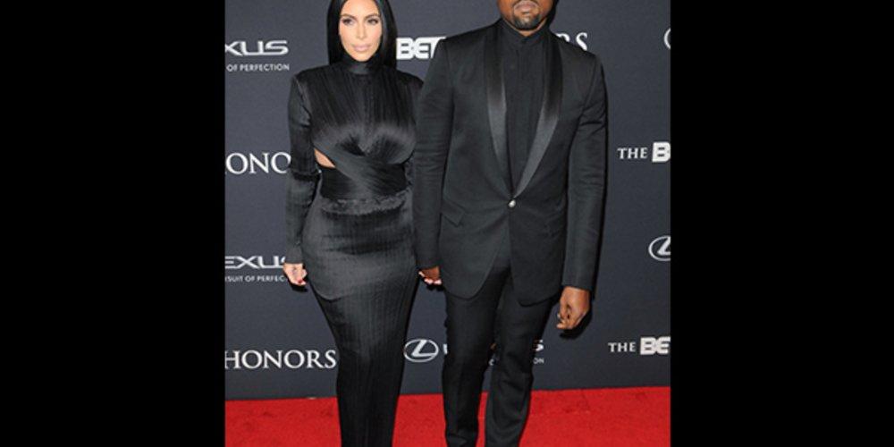Kardashian und Kanye West