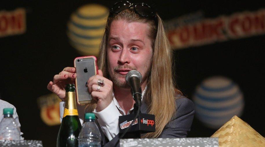 Macaulay Culking Vater Streit