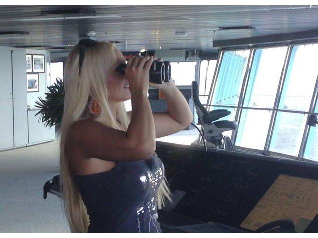 Daniela Katzenberger im Urlaub