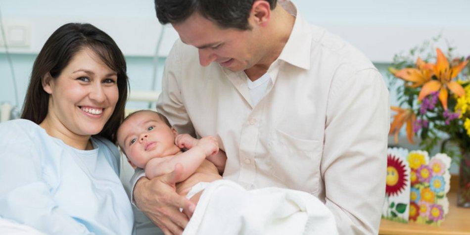 Wochenstation: Betreuung nach der Geburt