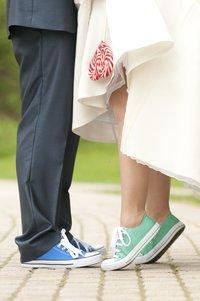 Brautschuhe Chucks