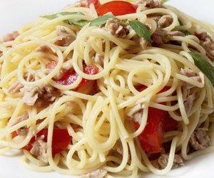 Spaghetti Thunfisch Salat