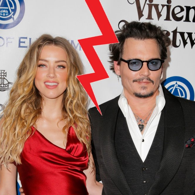 Johnny Depp Amber Heard Scheidung