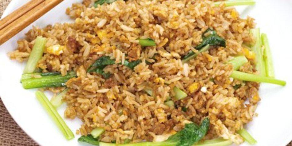 Gebratener Reis asiatisch