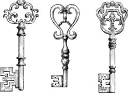 Schlüssel-Tattoo