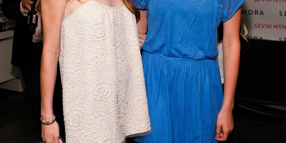 Lindsay Lohan verteidigt ihre Schwester