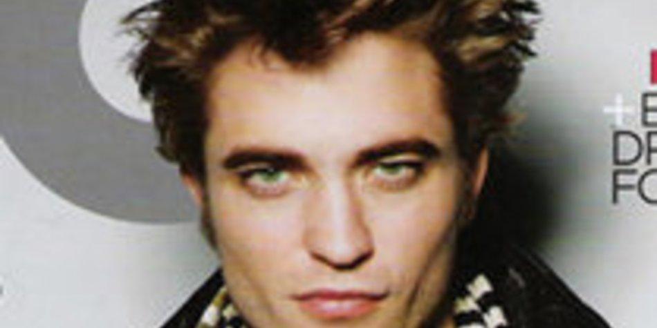 Robert Pattinson ziert das südafrikanische GQ-Cover