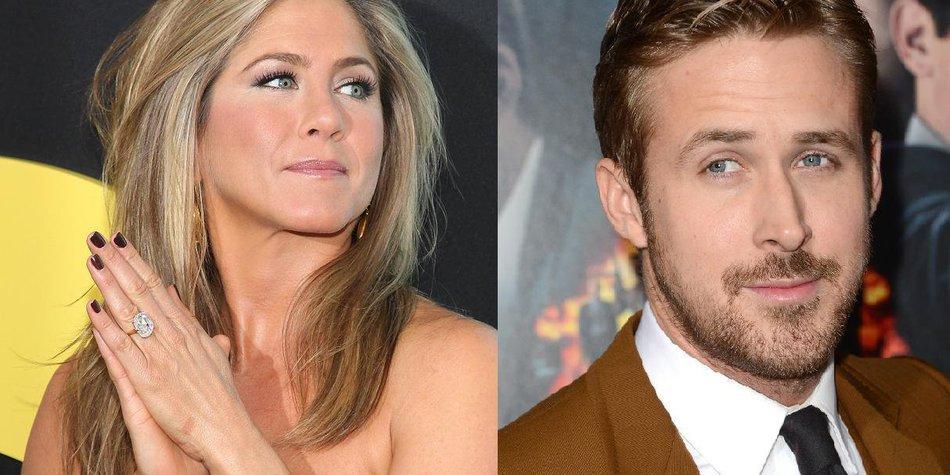 Jennifer Aniston schwärmt für Ryan Gosling