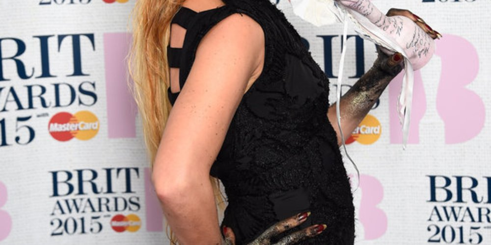 Brit Awards 2015: Paloma Faith gewann den Award als beste Künstlerin.