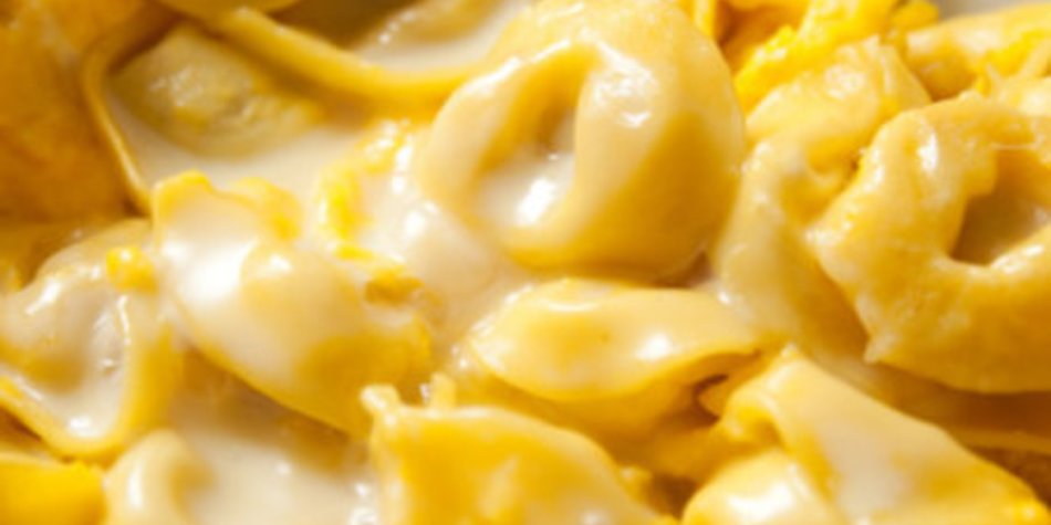 Tortellini mit Käse Sahne Soße