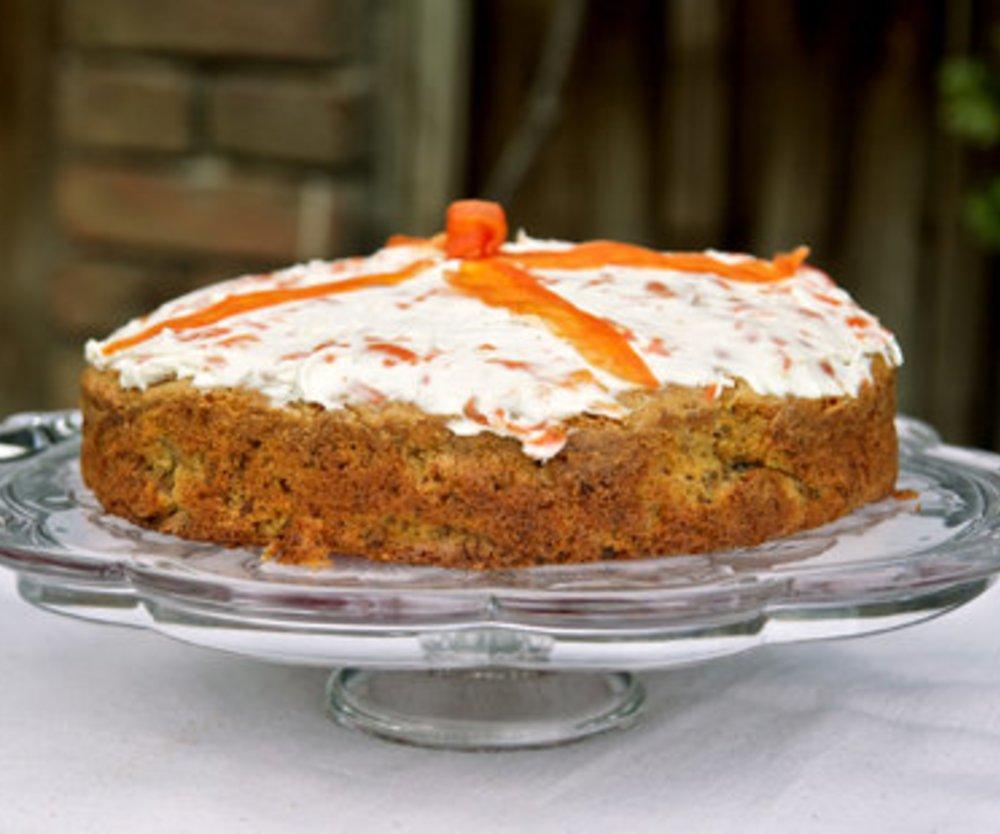 Karottenkuchen saftig