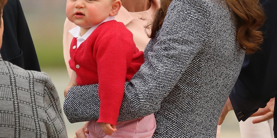 Prinz George feiert in Schottland