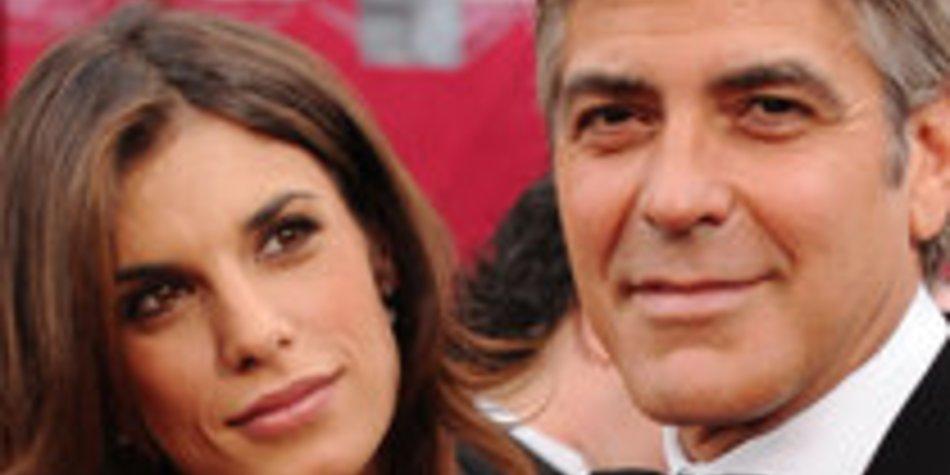 George Clooney besucht Schwiegereltern
