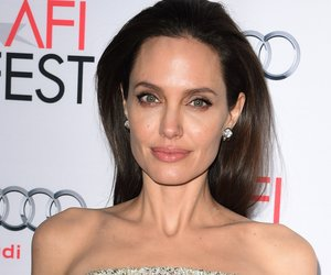 Writer-director-producer-actress Angelina Jolie Pitt arrives for the opening night gala premiere of Universal Pictures' 'By the Sea' during AFI FEST 2015 presented by Audi at the TCL Chinese Theatre in Hollywood, California on November 5, 2015. AFP PHOTO/ MARK RALSTON (Photo credit should read MARK RALSTON/AFP/Getty Images)