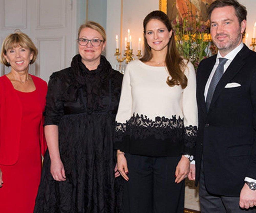 Prinzessin Madeleine strahlt vor Glück