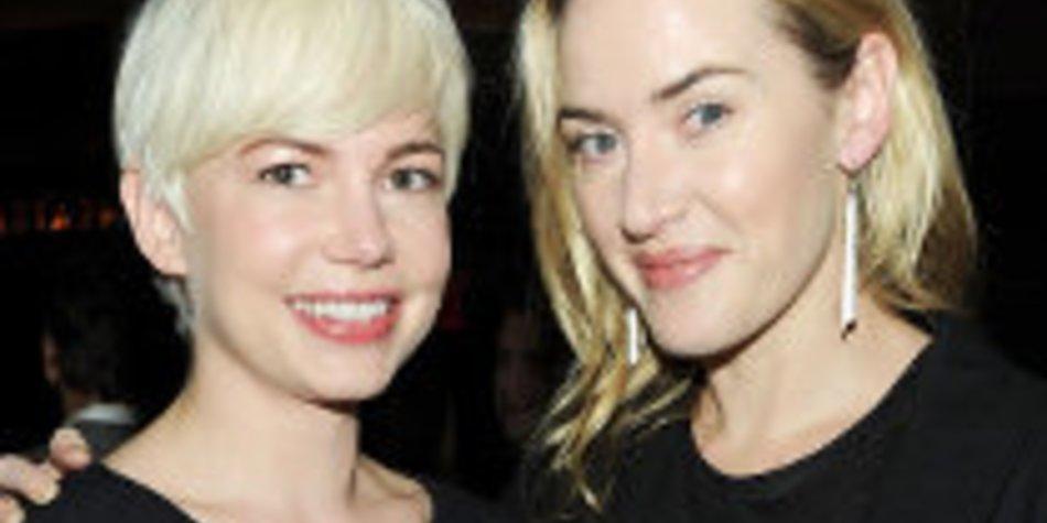 Kate Winslet und Michelle Williams: Sind sie beste Freundinnen?
