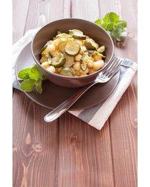 Gemüse-Gnocchi servierfertig