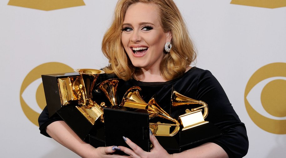 Adele räumt sechsmal ab