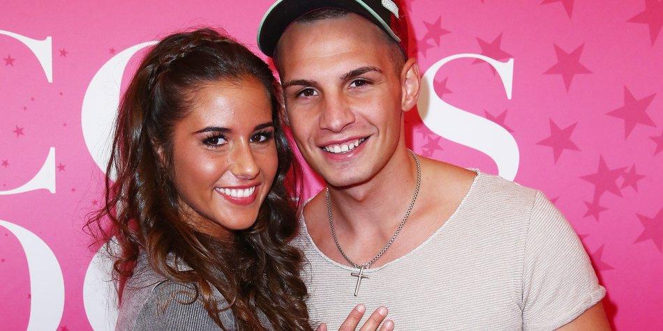 Sarah Und Pietro Lombardi glücklich