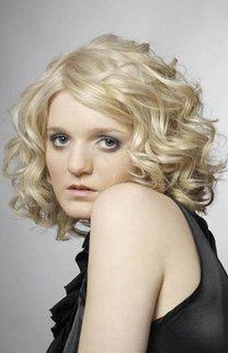 Sixties Locken in Blond