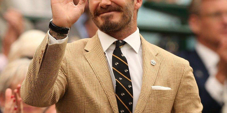 David Beckham im Visier der Steuerfahndung