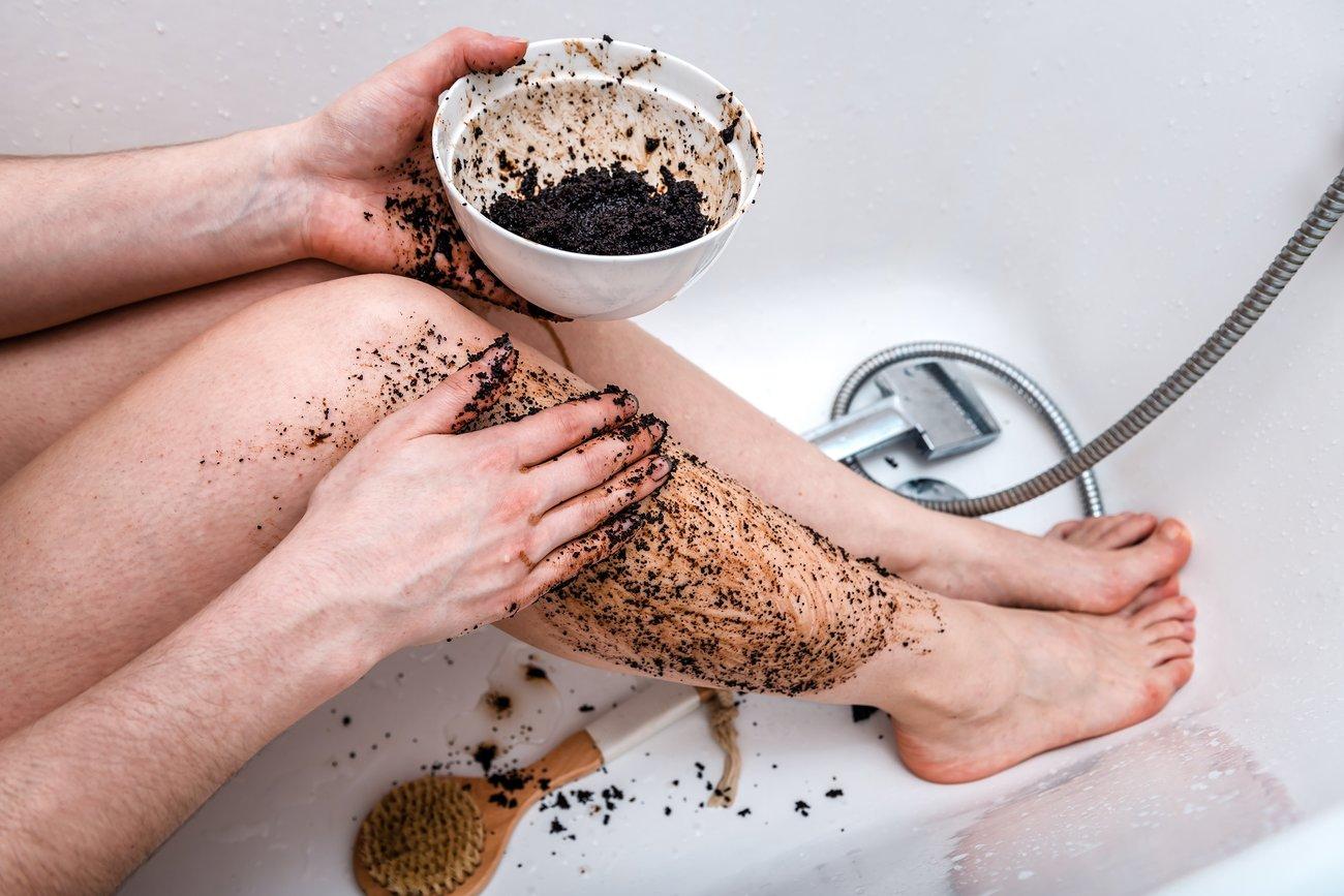 Body Scrub Kafeesatz