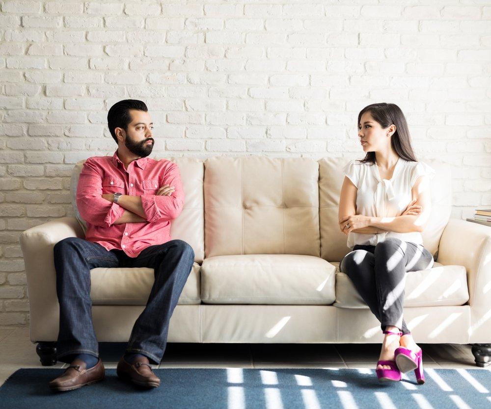 Passiv-aggressives Verhalten Beziehung