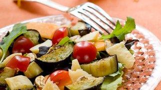 Gegrillter Gemüsesalat