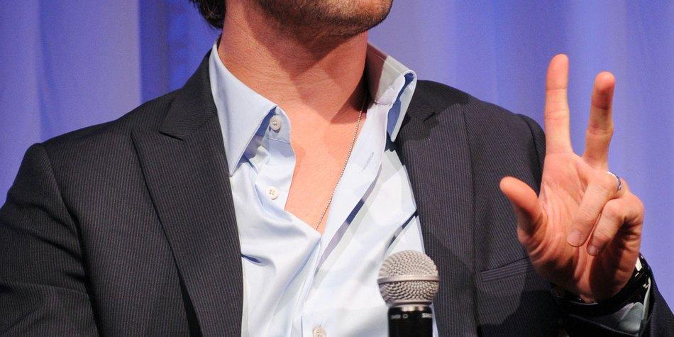 Chris Hemsworth will ein wenig kürzer treten