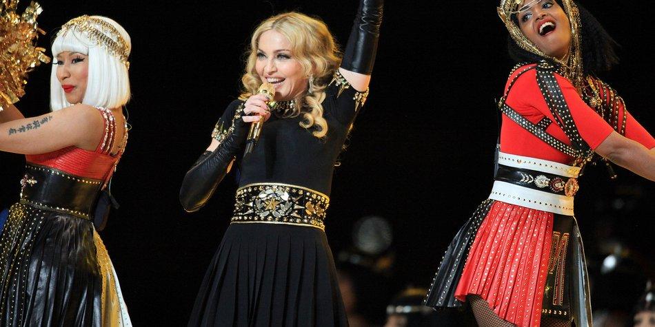Madonna ärgerte sich über M.I.A.