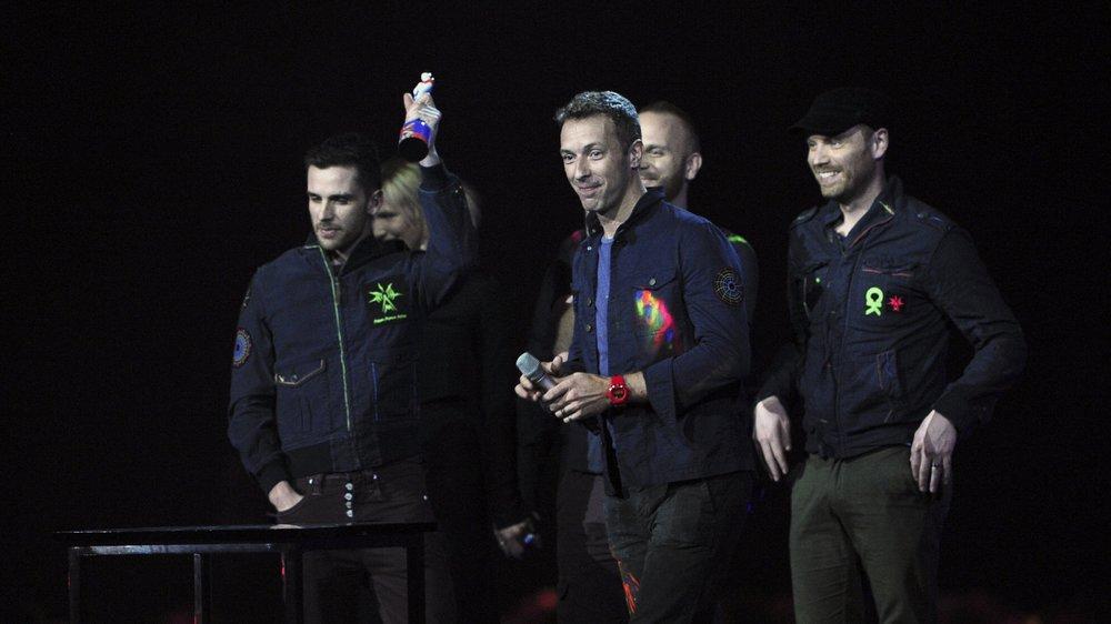 Coldplay stellen Song für den guten Zweck zur Verfügung