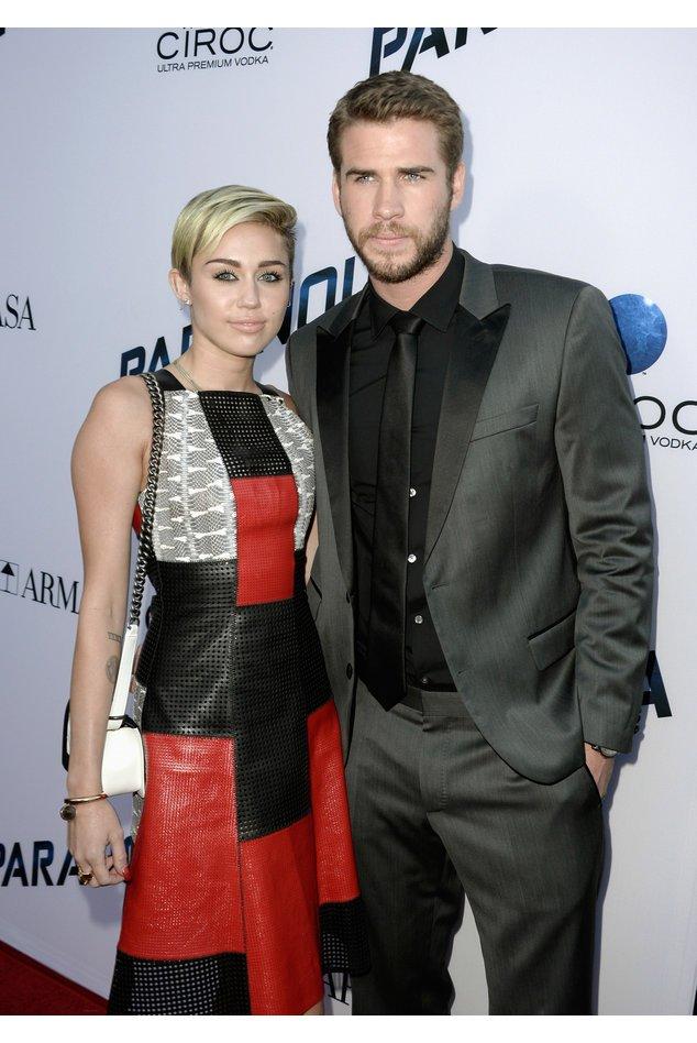 Miley Cyrus und Liam Hemsworth als sie noch zusammen waren