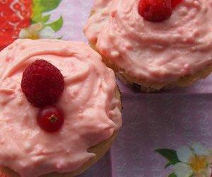 Beeren Cupcakes
