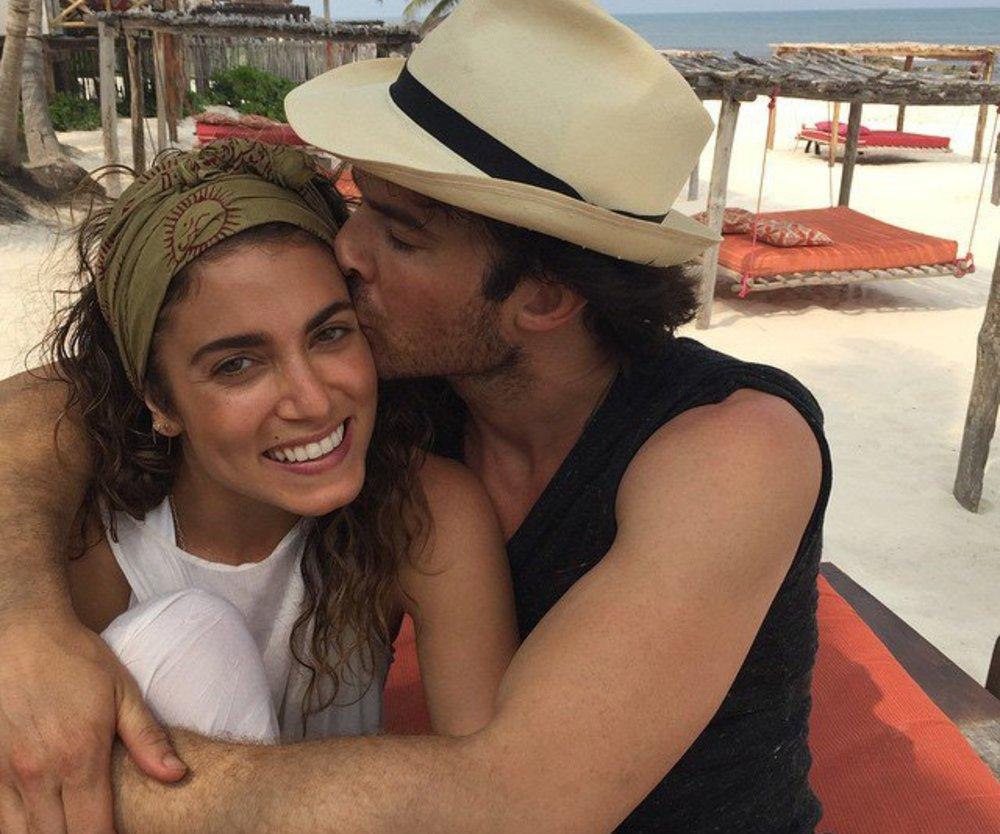 Ian Somerhalder genießt das Eheleben