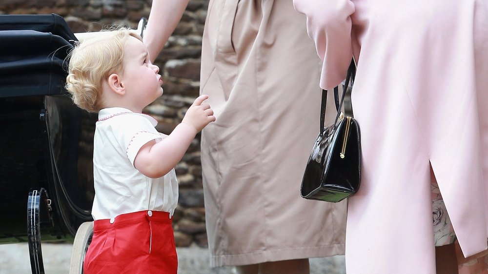 Prinz George: So spricht er Queen Elizabeth an