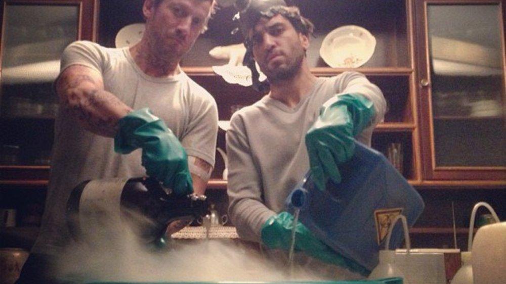 Elyas M`Barek und Wotan Wilke Möhring spielen Breaking Bad