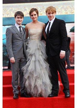 Harry Potter-Trio bleibt befreundet.