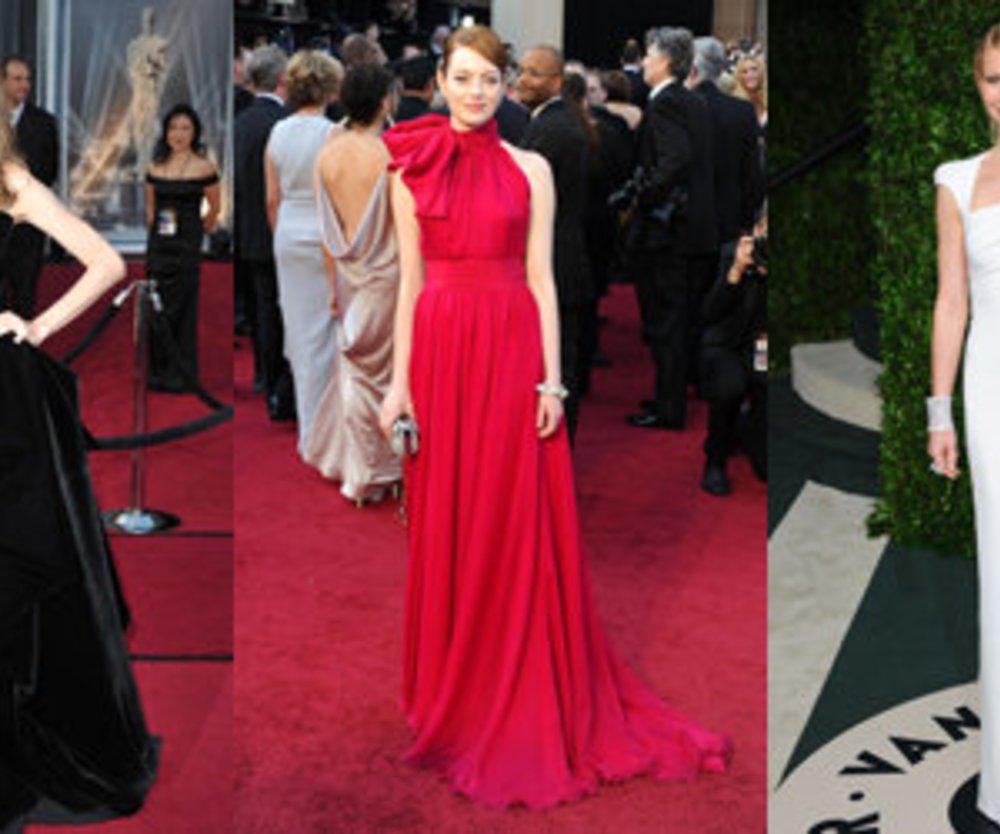 Oscars 2012 – Die schönsten Kleider