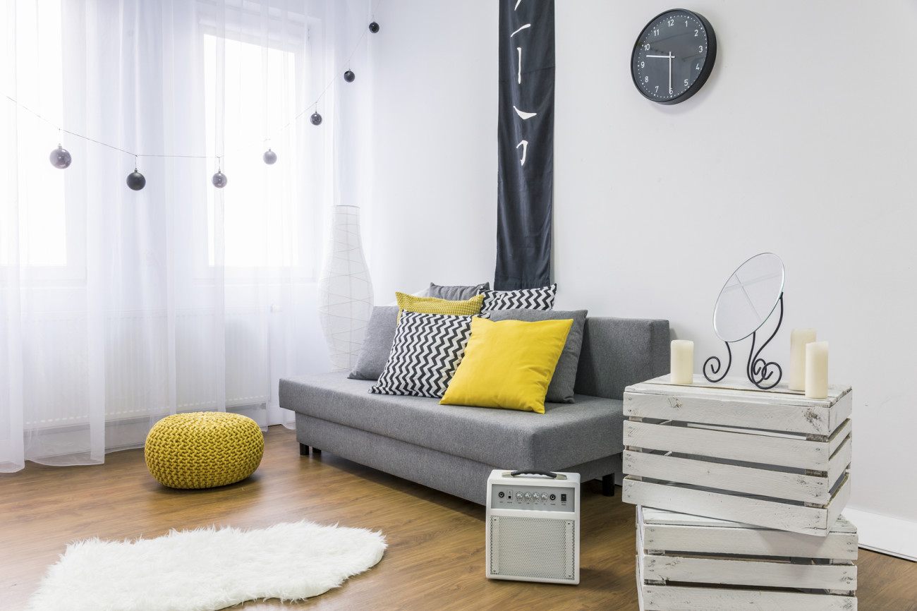 Kleines Wohnzimmer einrichten: Top 10 Tipps! | erdbeerlounge.de