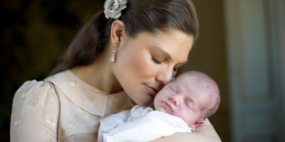 Victoria von Schweden zeigt neue Babyfotos