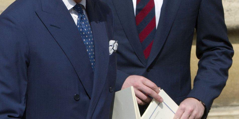 Prinz Harry hat in Sachen Liebe den Segen von Prinz Charles